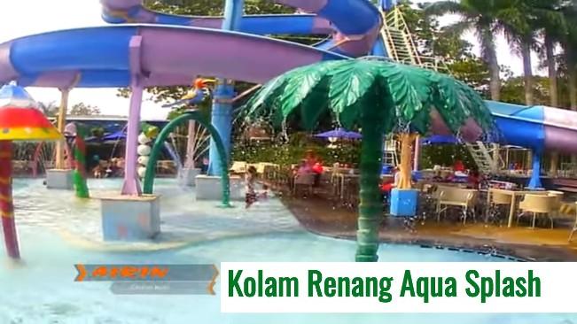 Kolam Renang Aqua Splash via Youtube