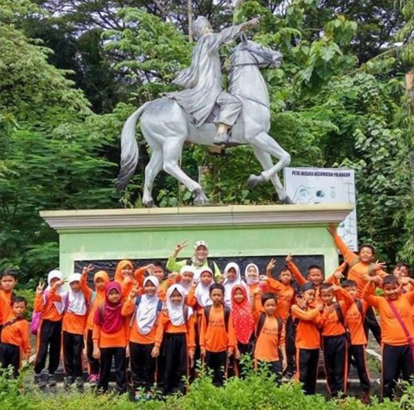 Patung Pangerang Diponegoro via IG @khairiyawiwin84