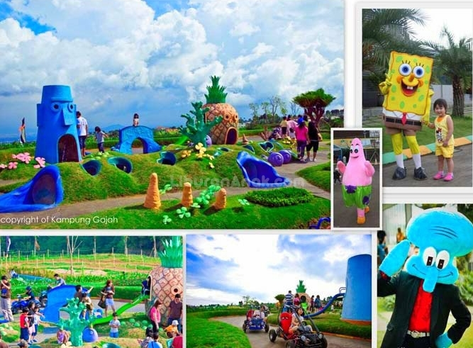 Rumah Spongebob Square Pants