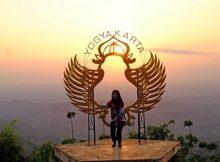 Sunset di puncak songgo langit via Pesonaindonesia
