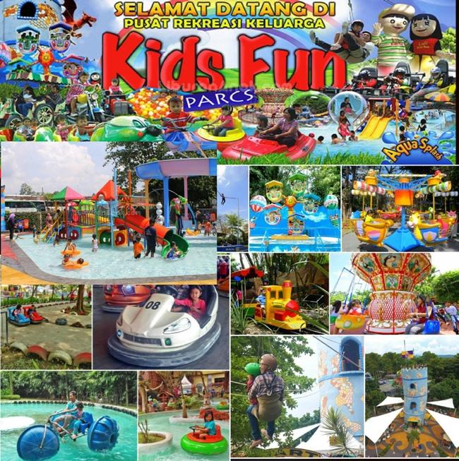 Wahana Kids Fun Parcs Jogja