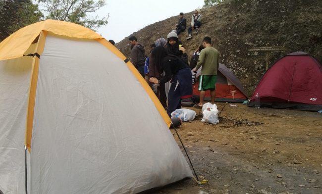 Camping di Gunung Api Purba Nglanggeran