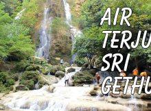 Keindahan Air Terjun Sri Gethuk via Youtube