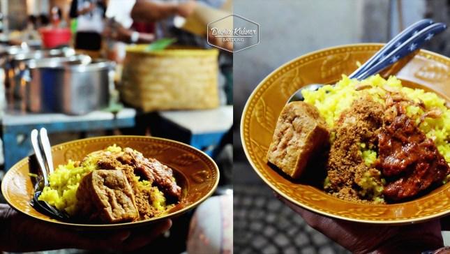 Nasi Kuning Pasir Koja via Dunia Kuliner Bandung