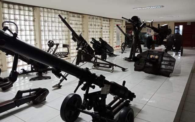 Senjata di Museum Satria Mandala. Foto: Gmap/Fendy
