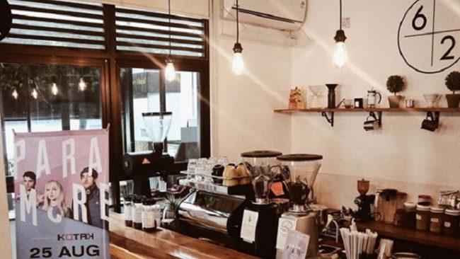 Sixty-two Coffee Jakarta via IG @Sixtytwocoffeejkt