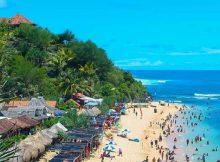 Pesona Pantai Sepanjang via IG @Jogjaseni
