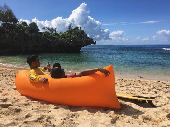 Santai Sejenak di Ngandong Beach Gunung Kidul