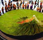 Maket Gunung Merapi