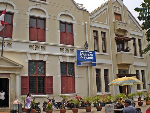 Tampak Depan Gedung Museum Wayang Jakarta