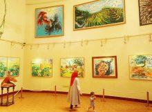 Wisata ke Museum Affandi via IG @ditanggainy