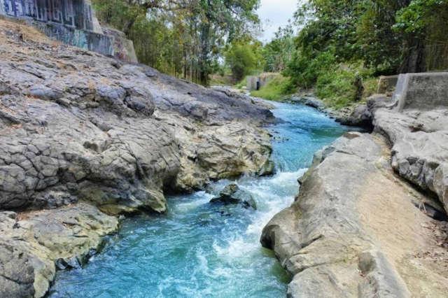 Air Sungai Opak yang Jernih Foto Google Maps/Budi Sutrisno
