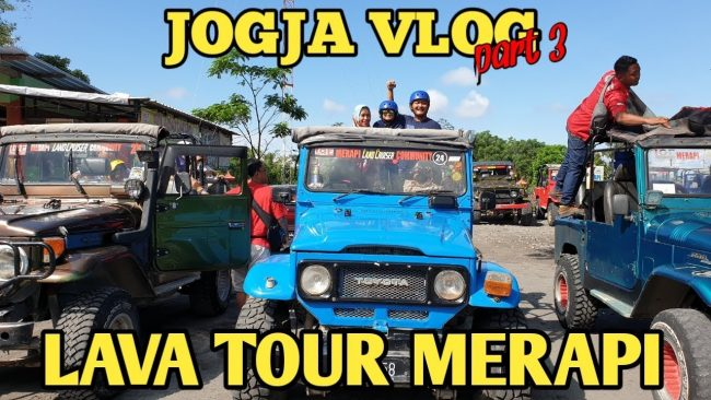 Lava Tour Merapi via Youtube