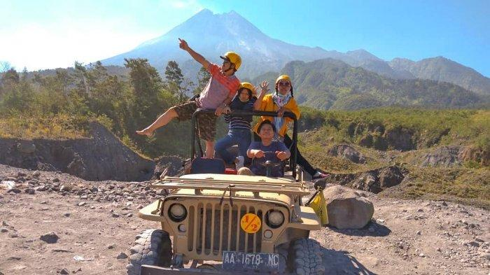 Rasakan Sensasi Offroad Lava Tour Merapi