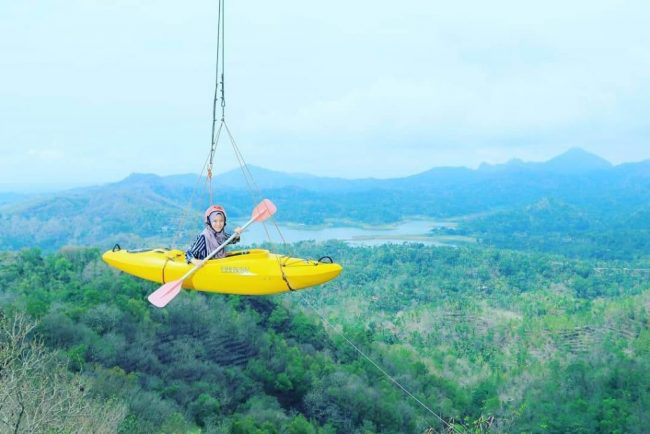 Spot Foto Kano Terbang via IG @ainfairuz02