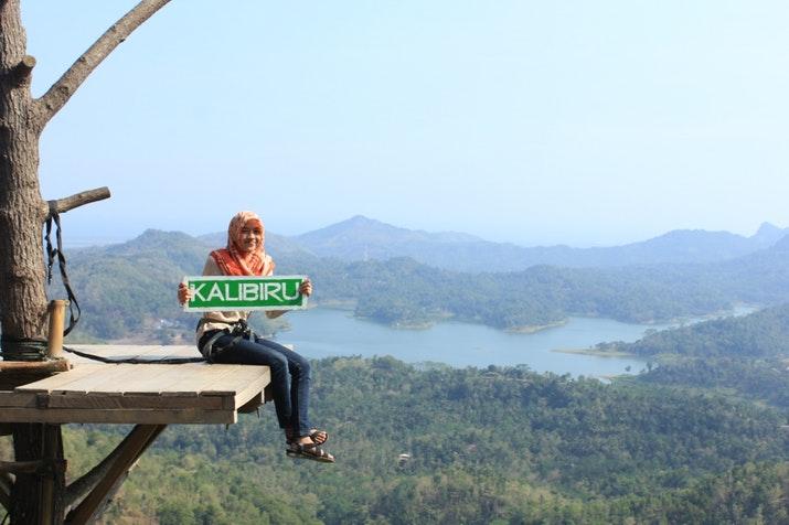 Wisata Alam Kalibiru via Goodnewsfromindonesia