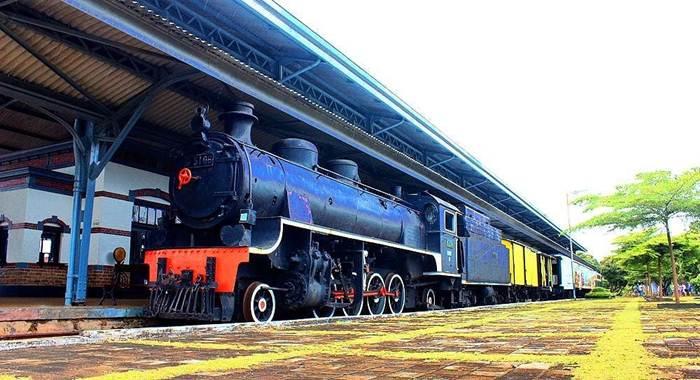 Museum Kereta Api Ambarawa via IG @underwaterholic