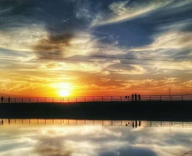 Sunset di waduk kleco @didik_kur_27