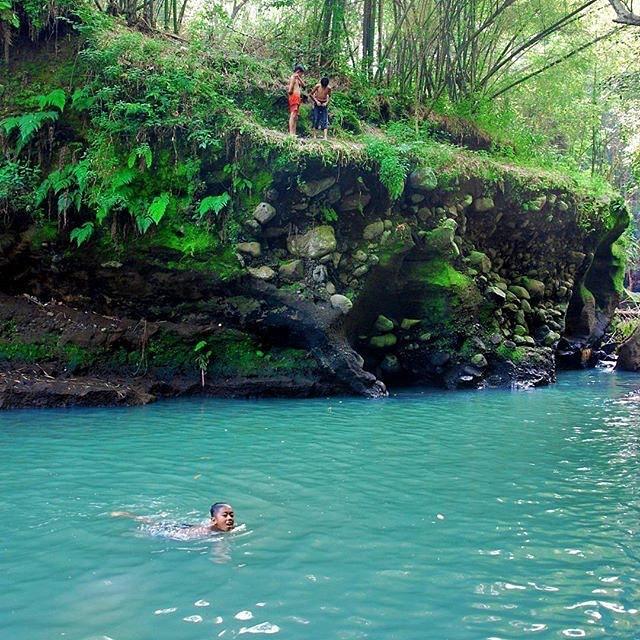 Berenang di Aliran Sungai Boyong yang Super Jernih via IG @jogjaku