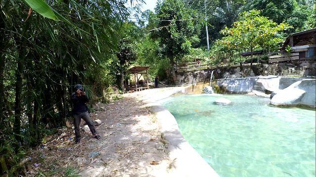 Pemandian Air Panas Putri Betung via Steemit