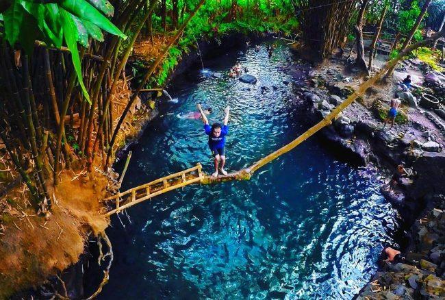 Pemandian Alami Blue Lagoon Jogja