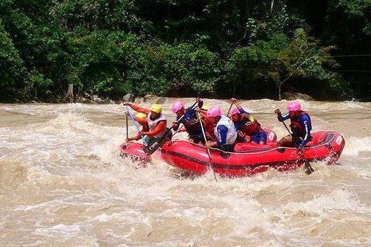 Arung Jeram Sungai Alas via IG