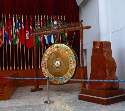 Gong Perdamaian KAA ke 50