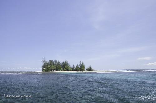 Pulau Gosong via Hananan