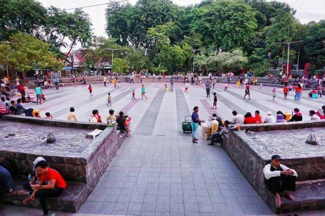 Taman Bangkul Jadi Tempat Wisata Favorit
