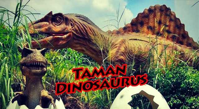 Taman Dinosaurus di Taman Legenda