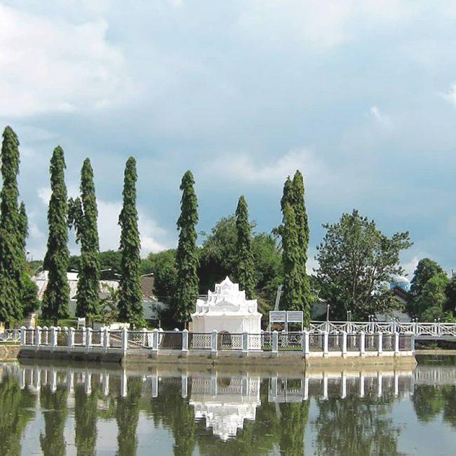 Taman Putroe Phang via IG @hermespalacehotelbandaaceh