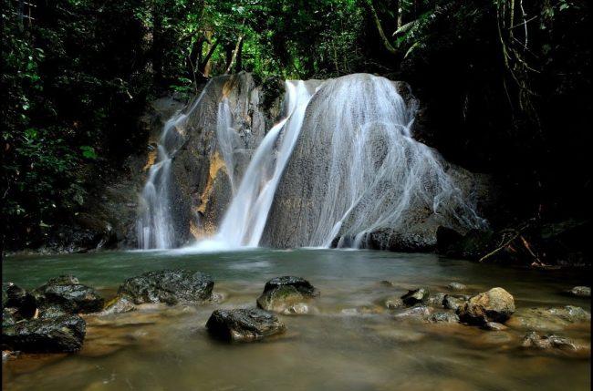 Air Terjun Kuta Malaka via youtube