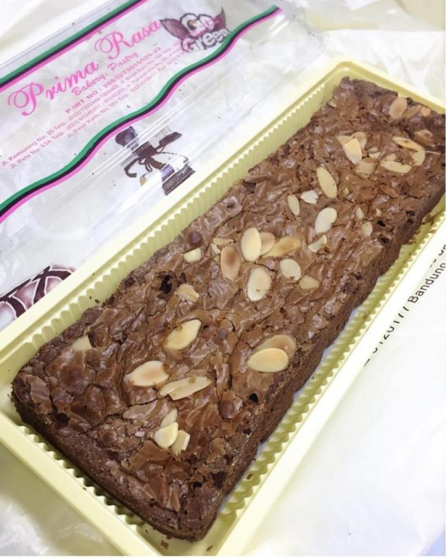 Brownies Prima Rasa via IG @rasabandung_id