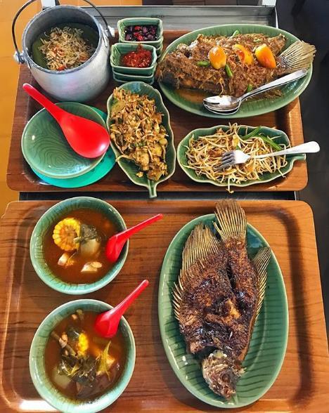 Ikan Bakar khas Cianjur via IG @lysa_tangkulung