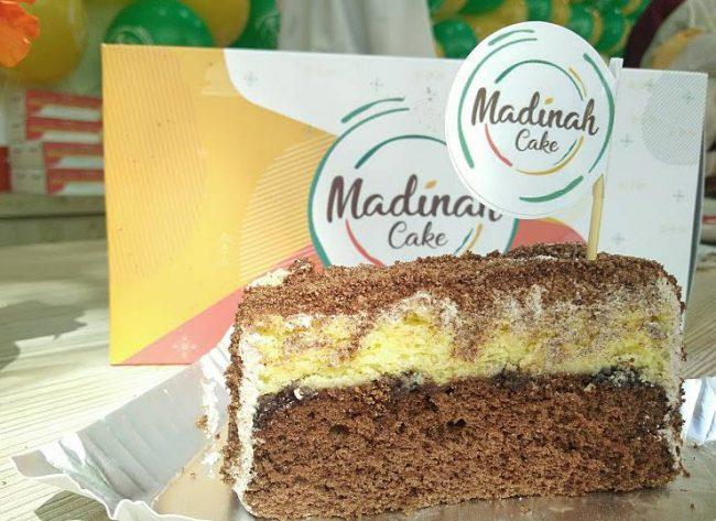 Madinah cake via Nichiehanie