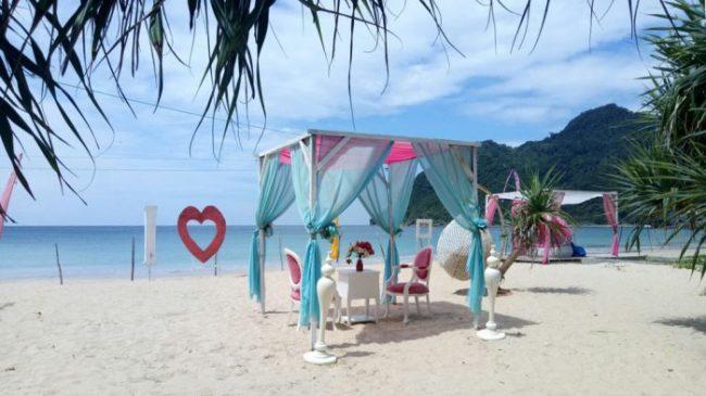 Pantai Babah Dua via Tribunnews