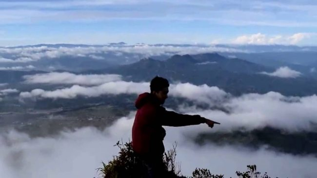 Puncak Burni Telong via Youtube