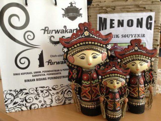 Boneka Menong via Inibaru
