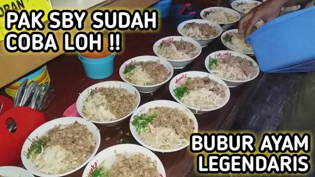 Bubur Ayam Haji Zaenal via Youtube