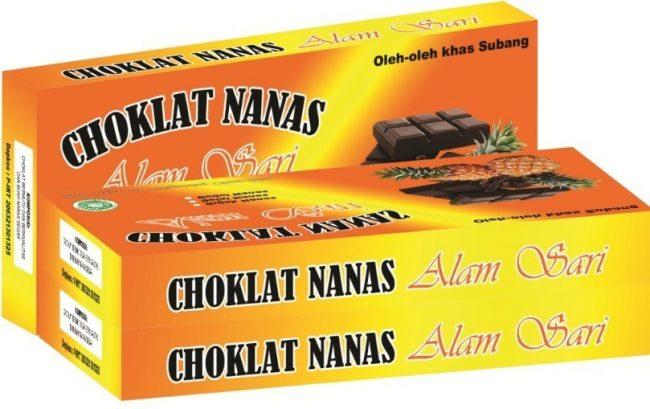 Coklat Nanas Khas Subang via Tokopedia
