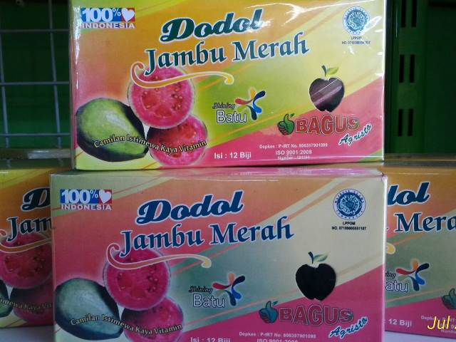 Dodol Jambu Biji
