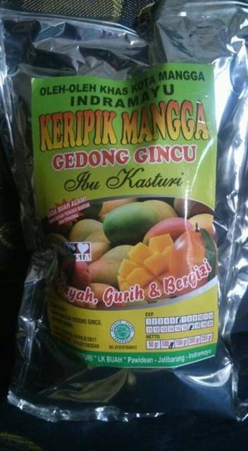 Keripik Buah Mangga via Tokopedia