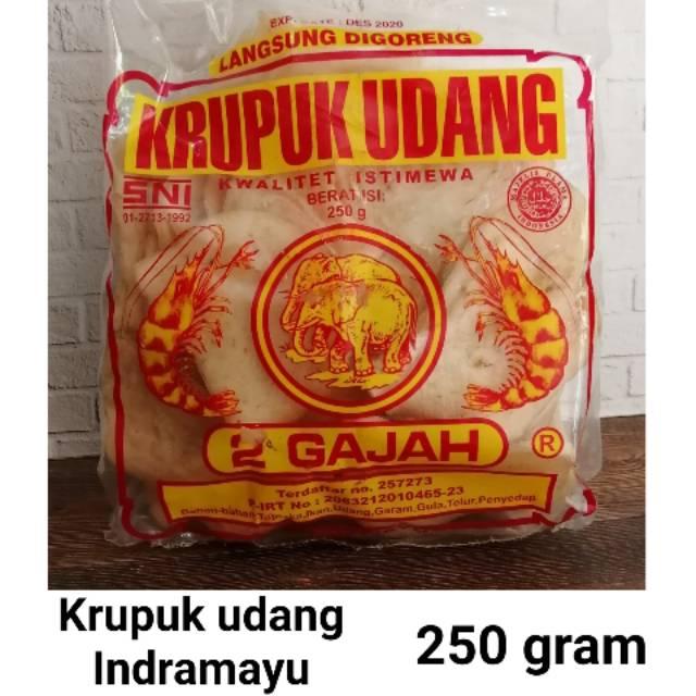 Kerupuk Udang via Shopee