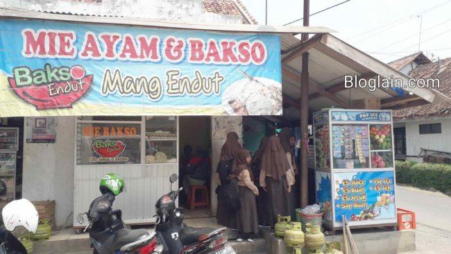 Mie Ayam Bakso Mang Endut via Bloglain