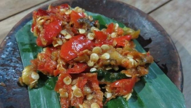 Sambal Goang via Detikfood