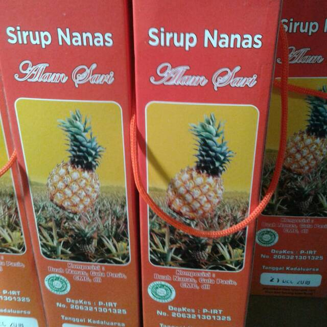 Sirup Nanas via Shopee
