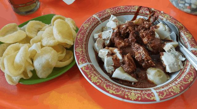 Tahu Bumbu khas Karawang via I love karawang