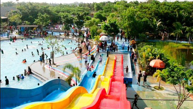 Agung Fantasi water Park via Youtube