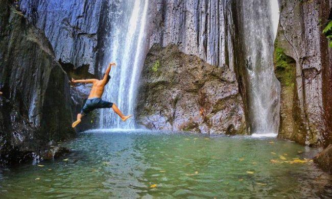 Air Terjun Dusun Kuning via Kintamaniid