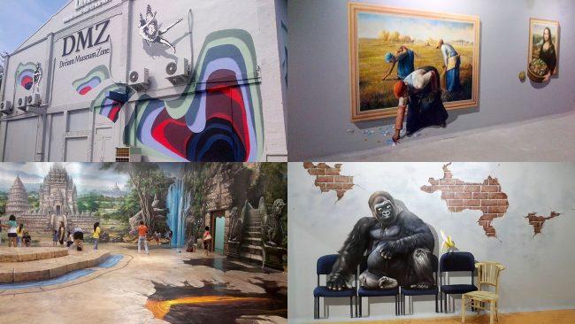 Dream Museum Zone via rantalmobilbali